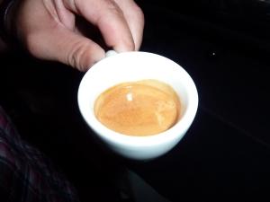 good cup espresso