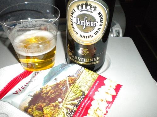 Lufthansa beer